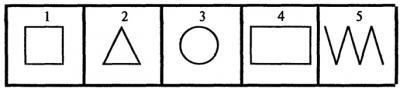 Мини - формула самопознания. Геометрический тест